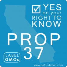 Shocking Reversal: GMO Labeling Measure Needs Support NOW