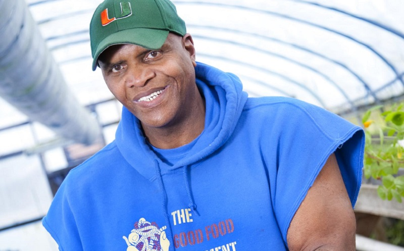 Will Allen is recognized as one of the top urban farmers in the U.S.