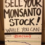 "Monsanto VP Steven Mizell has dumped over $1 million in shares ahead of the March Against Monsanto. Photo: karikral on ""Monsanto"" Pinterest"
