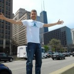 David Benjamin, shown here in Chicago, has been helping people clear their skin naturally for years.
