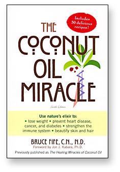 'The Coconut Oil Miracle:' a book that help improve the health of millions.