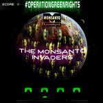 Monsanto's Korea website has been hacked.