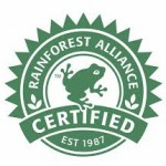 Rainforest alliance and certified organic products go hand-in-hand.