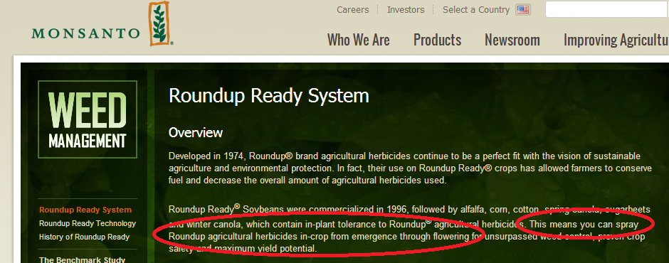 Florida monsanto roundupppp