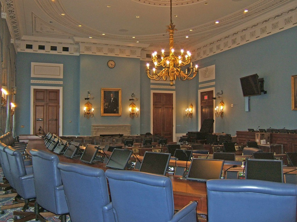 The House Agriculture Committee room.