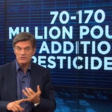"""America, We Are Running Out of Time:"" Dr. Oz Says While Asking for Urgent Help in Stopping New GMOs"