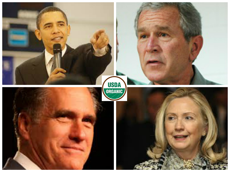 These big money politicians are all pro-GMO publicly but what about the food they eat at home?
