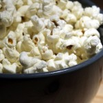 Popcorn seeds are non-GMO, but cross contamination is a concern.