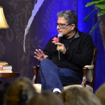 Best-selling author Deepak Chopra speaks. In this video he supports Vandana Shiva and the GMO Free movement.