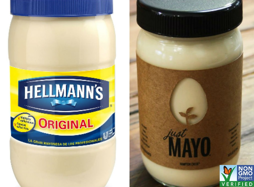 Hellmann's is going after a non-GMO mayo company.