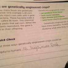 """No Bugs, More Food?"" Missouri Mother Shocked to Find GMO Propaganda in Children's Science Book"