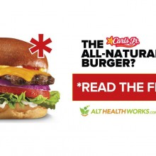 "Fast Food Chain Rolls Out New ""All Natural"" Burger…But You'd Better Read the Fine Print First"