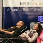 NeurOptimal brain feedback training recipients at a convention in Michigan. PHOTO: Courtesy of Neurofitness Center