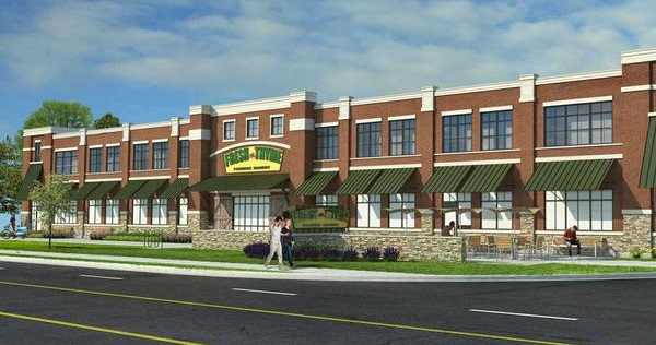 A concept for a new market in Worthington, OH.