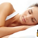 essential oils and pillow