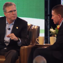 Jeb Bush Isn't Just a Member of the GMO Fan Club: He May As Well Be the President