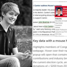 This 18-year-old created a new app to expose sellout politicians