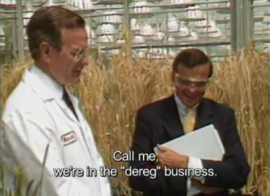 "George Bush Sr. had a lax attitude toward ""bureaucratic and safety hurdles"" facing Monsanto's GMO crops in the 80s."
