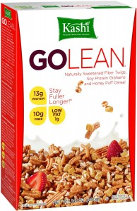 """Kashi Go Lean Original Cereal may not be as """"healthy"""" as people think after all."""