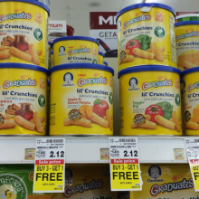 Gerber's Lil' Crunchies are FILLED with Monsanto's Cancer-Causing Chemicals: Watch for this ONE THING