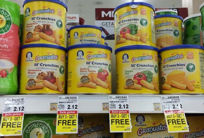 Gerber S Lil Crunchies Are Filled With Monsanto S Cancer