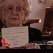 In 1991, This Woman Made an Entirely Different Ribbon for Cancer Awareness. What Susan G. Komen Doesn't Want You to Know