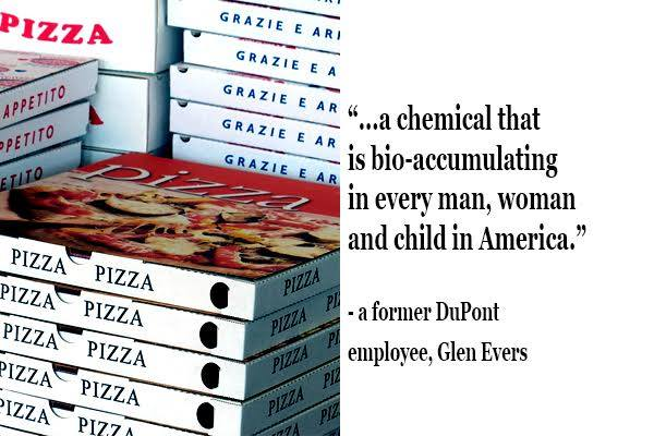 pizza box chemicals