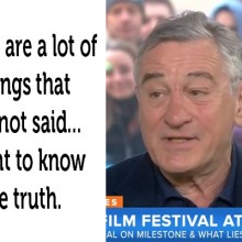 """I Want to Know the Truth:"" De Niro Calls Out the Vaccine Industry on National TV (with Video)"