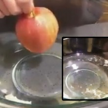 She Puts an Organic Apple in Boiling Water…What Happens Next Will Shock You