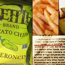 It Is Official. Potato Chips are Carcinogenic BUT It Is Not Because of The Cooking Oil