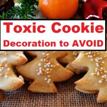FDA Warns: Popular Christmas Cookie Decoration is Inedible, Contains a TOXIC Metal