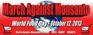 The next March Against Monsanto will be held on October 12.