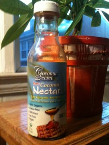 Coconut Nectar is a healthy substitute for sugar and artificial sweeteners.