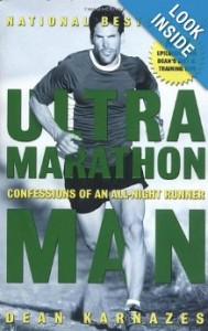 Dean's book 'Ultramarathon Man' details his unbelievable experiences running for huge stretches of time with no breaks. Click the picture above to see the book.