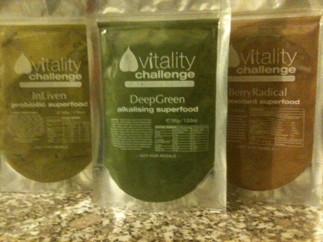 Three Superfood powders from Miessence.