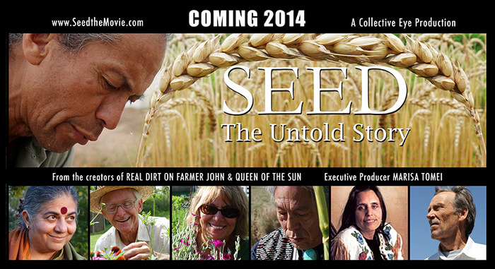 'Seed: The Untold Story' features the stories of seed savers and organizers around the world including Dr. Vandana Shiva.