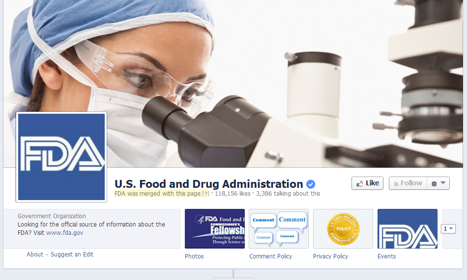 Wait a second, how many employees does the FDA have again? 120,000 or so?