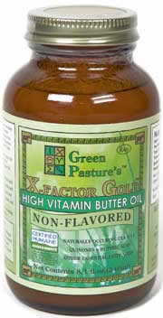High-vitamin butter oil from Pure Pastures. Check out their website by clicking on the picture.