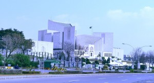 The Pakistani Supreme Court in Lahore. Photo: Khalid Mahmood, Creative Commons photo