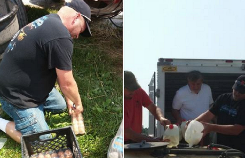 A raid of Michigan's organic My Family Co-Op took place earlier this week. Photo: Hill High Dairy Facebook Page