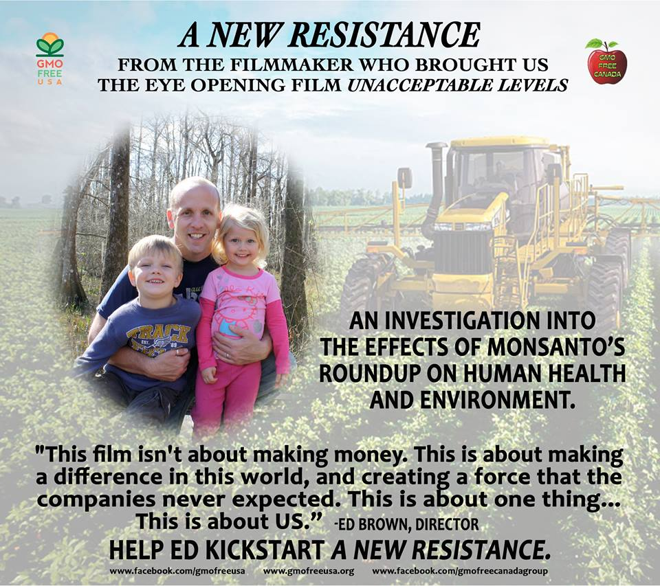 The upcoming film by Director Ed Brown, photo by GMO Free USA.