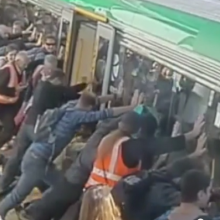 Man Caught Between Train and the Platform Saved by People Power in Australia