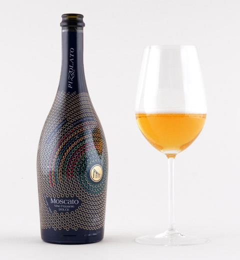 Pizzolato's organic Moscato wine.