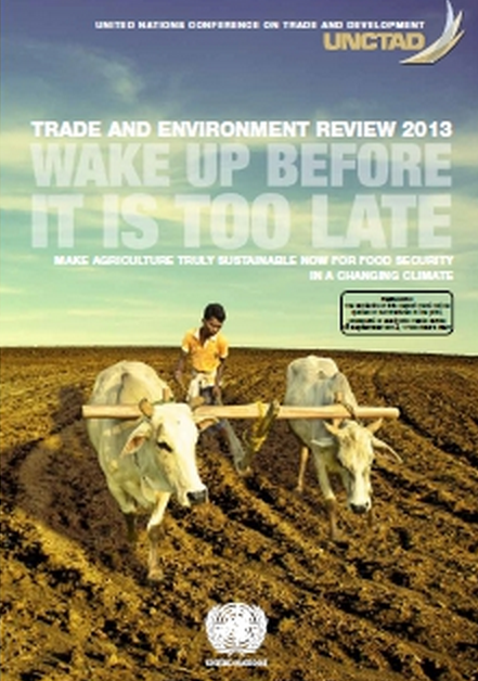"Do we need GMOs to ""feed the world?"" This 2013 UN Report disagrees; click here for more info."