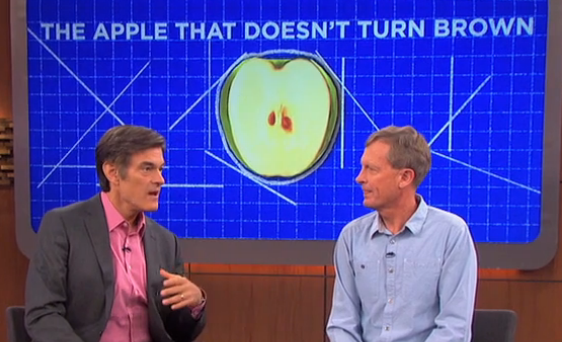 dr oz gmo apple