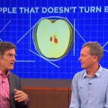 "Dr. Oz Not a Fan of This Man's GMO Apple: ""We're Basically Engaged in a Science Experiment Here"""