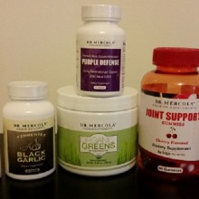 Product Review: Organic Greens, Joint Support Formula and 4 Other Supplements from the Dr. Mercola Premium Line