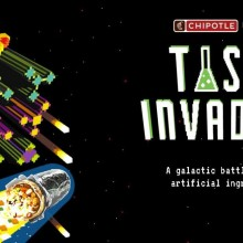 Blast Fake Ingredients With a Giant Burrito in Chipotle's New Space Invaders Style Video Game