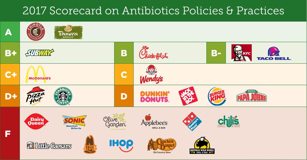 chart antibiotic