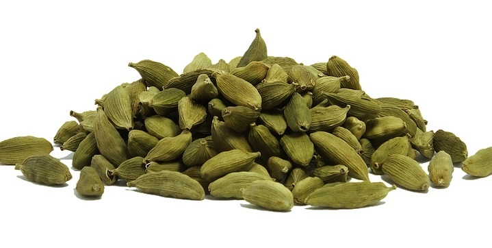 Cardamon seeds can be grounded and added to coffee, as well as cooking.